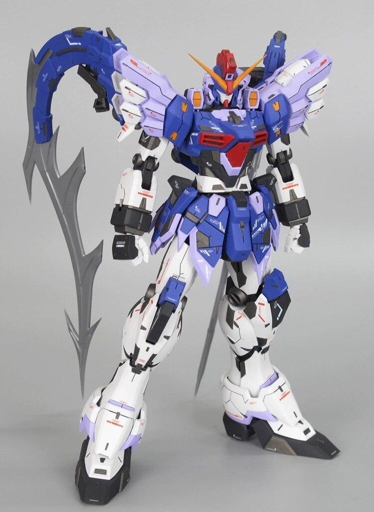 En stock Super Nova MG 1/100 Gundam Sandrock personalizado sin fin Waltz ROBOT modelo figura Anime juguetes figura