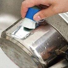 Odrdzewiacz czyszczenie szczotka do mycia pręt ze stali nierdzewnej magiczny kij wytrzeć naczynie do garnka narzędzie do gotowania dla kuchni samochodowej