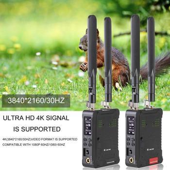 FWT-300Pro+ 300m/1000ft Video Transmission Lightweight Stable Transmission 4K Wireless Video Transmission System for Camera
