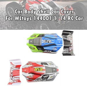 Car Body Shell Car Cover 144001-1335 Part For WLtoys 144001 1/14 4WD RC Car RC Car Accessories RC Parts High Quality 2021