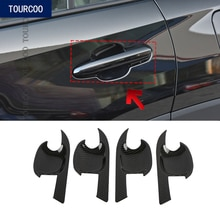 For Toyota RAV4 2019 Exterior Door Bowl Cover Moulding Trim Sticker ABS Car styling Decoration Acces