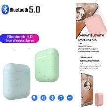 Newst Bluetooth 5.0 마이크 스포츠 헤드셋 이어폰 무선 이어폰 Android For iOS 무선 헤드폰 TWS 충전 박스