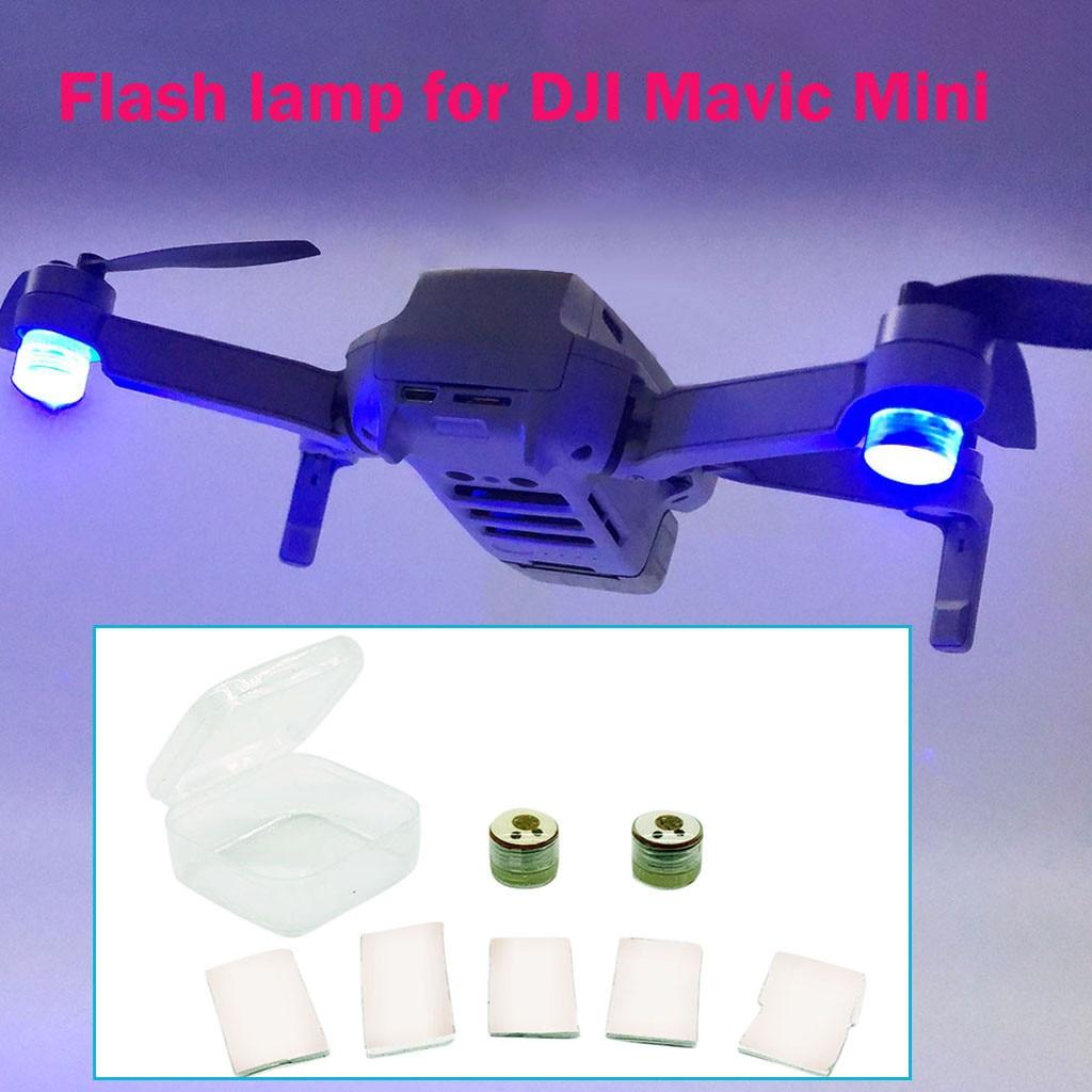 Led Light Night Navigation Light Strobe Lamp For Dji Mavic Mini Drone Model Airplane Accessories Light Children Toy Gift Lights