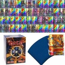 120PCS Pokemon MEGA GX English Shining Cards Box TAKARA TOMY Playing Games Card Battle Trading Kaart