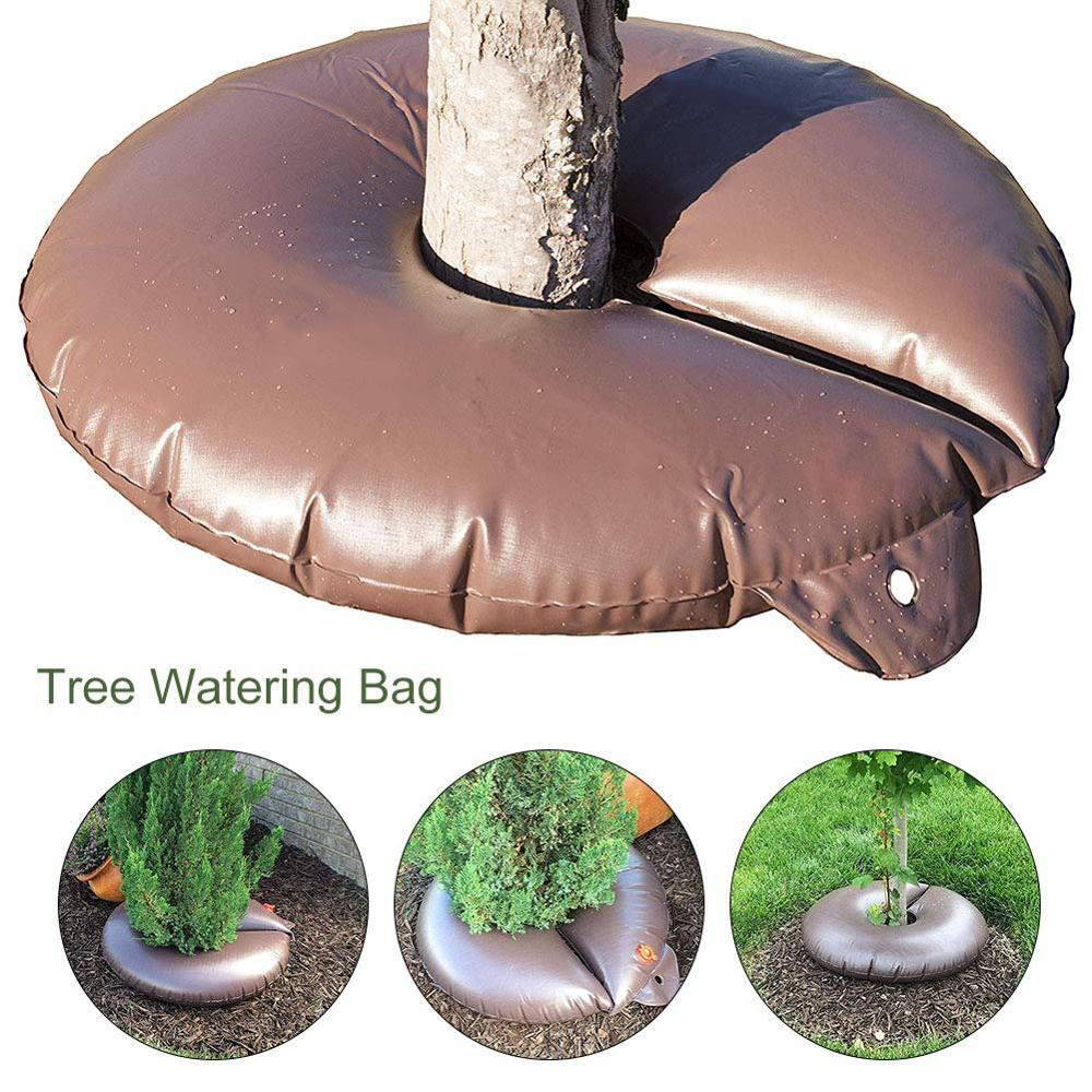 15 Gallon Tree Watering Bag Slow Releasing Drip Irrigation Bag Automatic Watering For Planting Trees Garden Plant Watering недорого