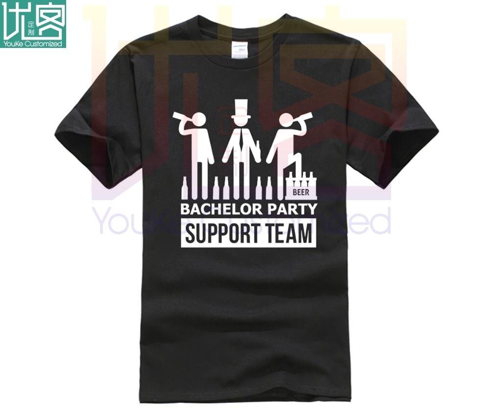Camiseta negra para hombre con cuello redondo de algodón para ventas en línea Hipster
