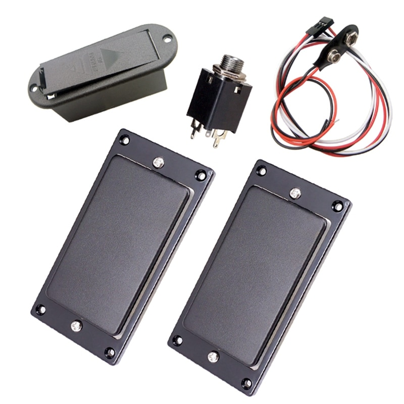 Active Pickup Battery Cover Humbucker Pickups for 6-String Electric Guitars enlarge
