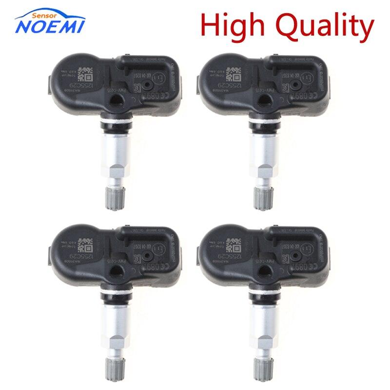 4 Uds para Toyota 42607-60010 4260760010 PMV-C215 PMVC215 TPMS Sensor Sistema de Monitoreo de presión de Neumáticos Accesorios para el coche