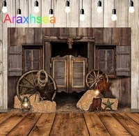 wild west party backdrop western cowboy sheriff rustic vintage rural wood birthday party banner decoration background photocall
