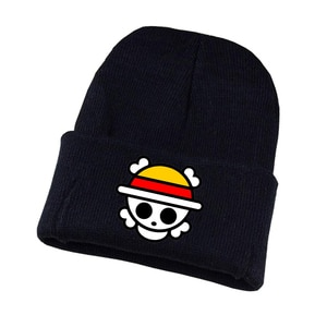 Anime One Piece Knitted hat Cosplay hat Unisex Print Adult Casual Cotton hat teenagers winter Knitted Cap