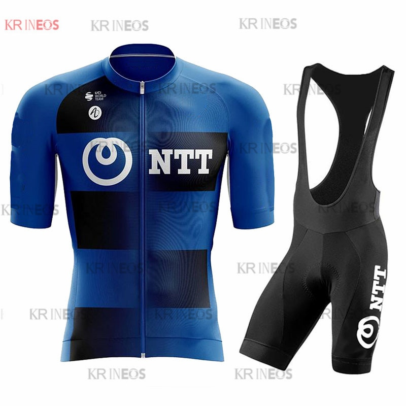 NTT 2021 Cycling Suits Road Bike Wear Clothing Men's Pro Bib Shorts Sets Mtb Bicycle Jersey Clothes Maillot Ciclismo Uniform