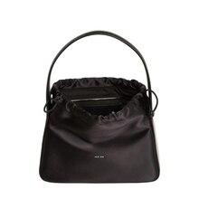 Fashion designer brand style women Baguette bag string handbag casual shoulder bags Silk leather top