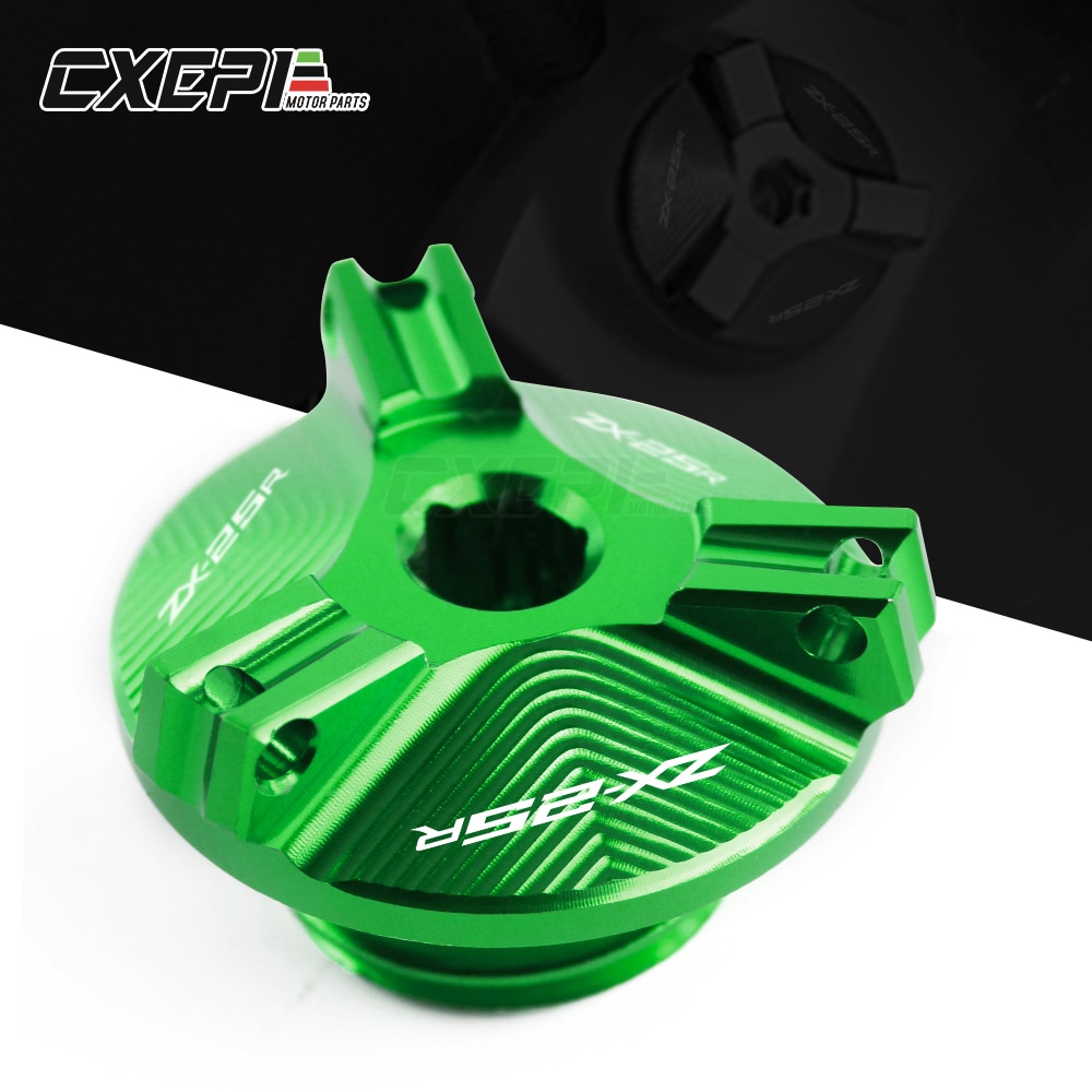 2020 NEW For Kawasaki Ninja zx-25r ZX25R 2020 2021 Motorcycle  CNC Engine Oil Filler Cover Plug