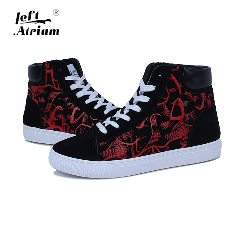 Sneakers High top Fashion Shoes Korean Men's Shoes Student Canvas Shoes Men's Casual Shoes Fashion Youth Board Shoes