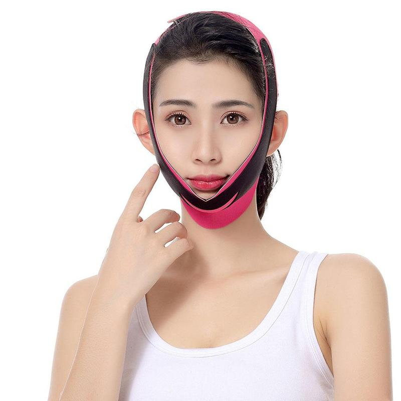 Women Delicate Reduce Double Chin Thin Face Belt Anti Wrinkle Face Slimming Bandage Massager V-Line Lift Up Beauty Tools недорого
