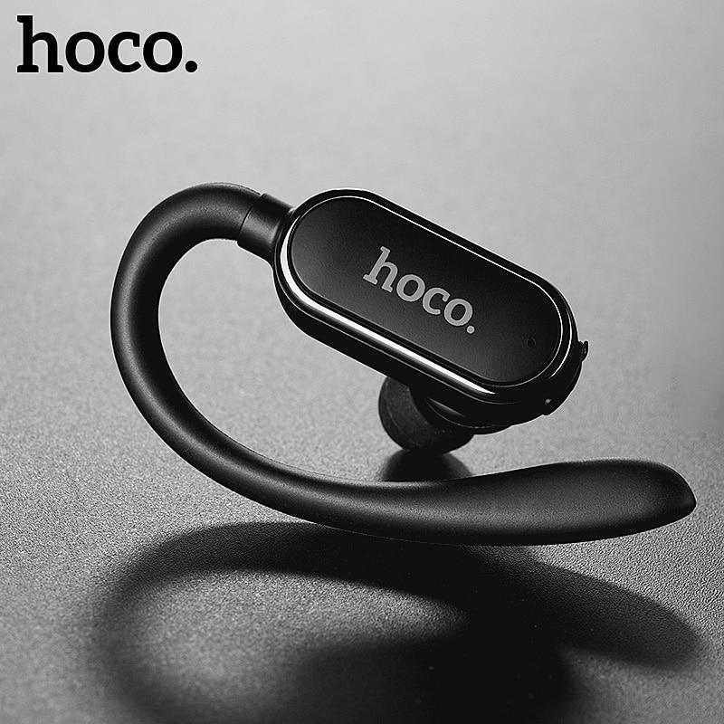 HOCO спортивные мини наушники bluetooth наушники гарнитура с супер басами Беспроводная гарнитура наушники Handsfree Mic для iphone X huawei P20