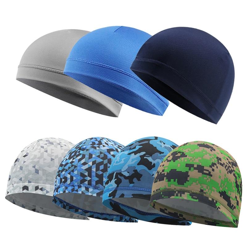 Summer Bicycle Cycling Headbands Sport Cyclist Cycling Cap For Men  Bandana Female Bike Cap Hat Men's Summer Running Headscarf