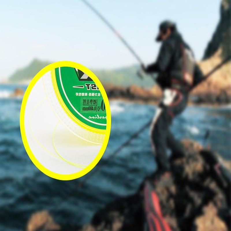 150m Rocky Fishing Line Wear-resistant Sea Fishing Luya Special Fishing Line high-grade semi-floating Nylon fishing line enlarge