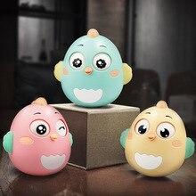 Dla dzieci zabawka tumbler złapać Grip 3-6 A księżyc noworodka komfort wczesna edukacja gumy grzechotka zabawka dla dziecka