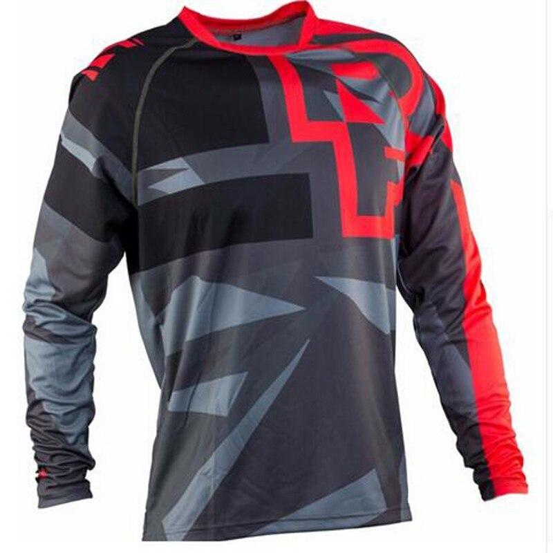 2019 enduro RF ciclismo camiseta montaña Downhill bicicleta de manga larga ropa de carreras DH MTB off road Motocross BMX Jerseys al por mayor