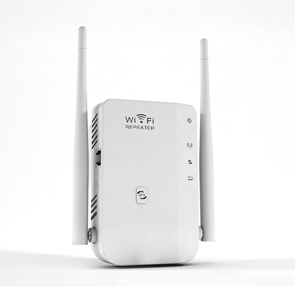 300M Dual-Antenne Wifi Repeater Drahtlose Signal Verstärkung Erweitert Signal Booster Professionelle Mode