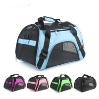 soft face carrying bag carrying pet bag dog cat carrying bag mesh cage car travel breathable pet carrying bag