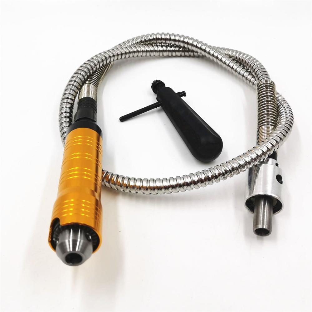 الجدول آلة تلميع المعادن عمود مرن أنبوب لقط حجم 0.4-6.5 مللي متر للكهرباء ماكينة الطحن رمح أنبوب مطحنة القالب