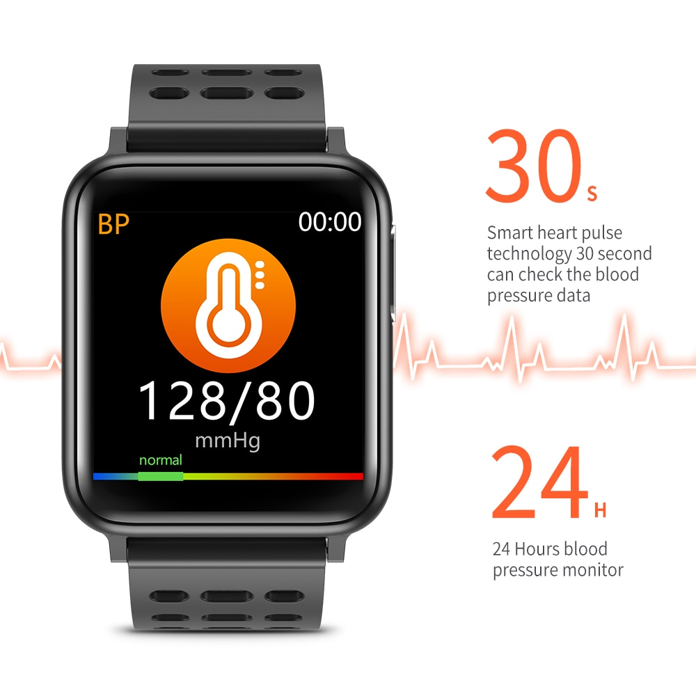 Measurement Smart Watch Men Blood Pressure Electronic Smart Watch Heart Rate Monitor Smartwatch Women Waterproof Ip67 Smartwatch