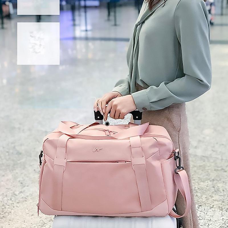 Складные дорожные сумки на колесиках, Женский органайзер для упаковки одежды, багажа, Спортивная независимая обувь, сумочка, аксессуары, принадлежности