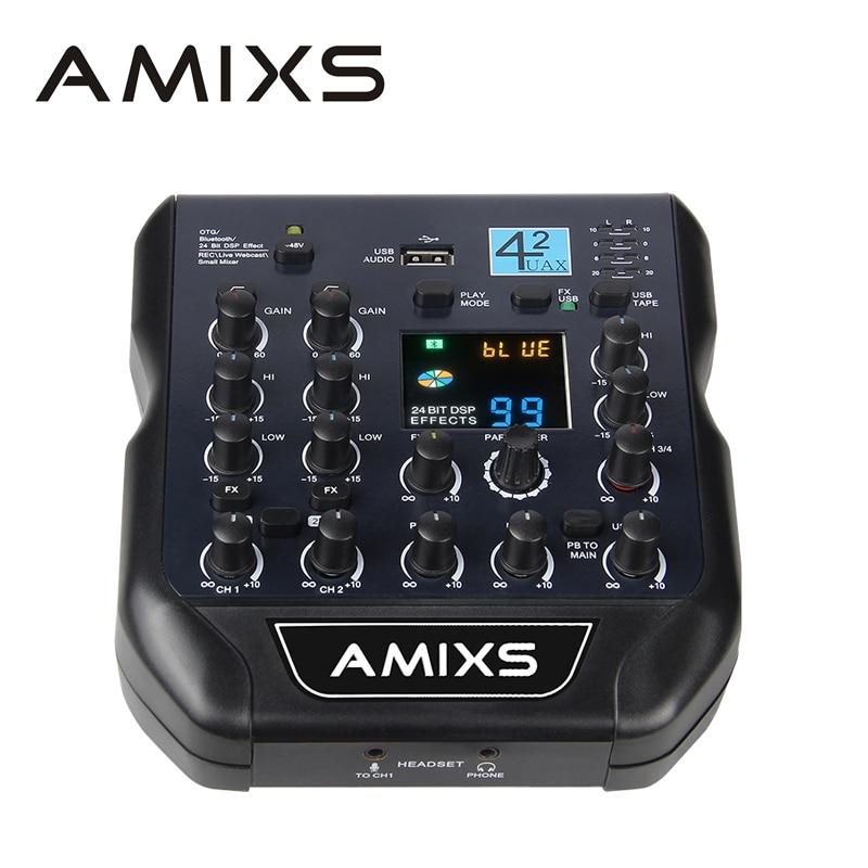 192 khz قسط صوت usb المحمولة خلاط صوت صغير الصوت بطاقة الصوت تسجيل الكمبيوتر بث مباشر تسجيل الهاتف