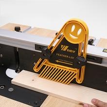 Planche multi-usages Double plumes plume Loc pour scies à Table routeur et Tables clôtures outils jauge à onglet fente boiseries bricolage