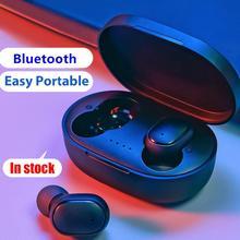 A6S uniwersalny przenośny wodoodporny bezprzewodowy Bluetooth5.0 słuchawki bas stereo słuchawki douszne słuchawka wbudowany mikrofon gorąca sprzedaż