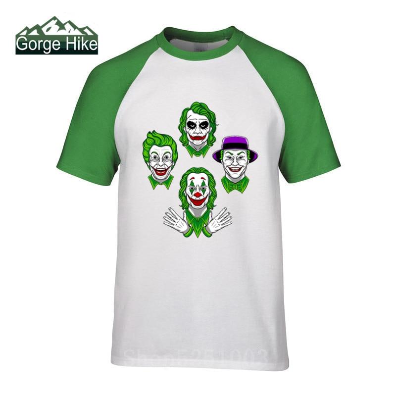 3D Funny Jokers T Shirt Men Fashion criminal gang Print Tshirt Summer Hip Hop Tops Streetwear Cotton gotham villain Short Sleeve