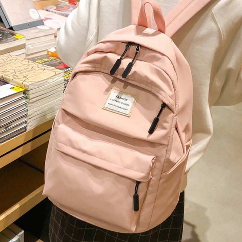 Enopella moda senhoras mochila feminina para meninas saco de escola mochila à prova dwaterproof água para adolescentes