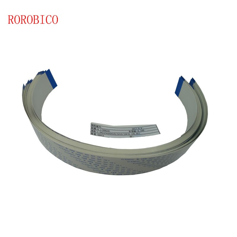 Buena F186000 dx5 cable plano de impresión FFC 31pin 400mm de longitud para epson DX5 cable de fecha principal Allwin Yeselan Xuli Mutoh impresora