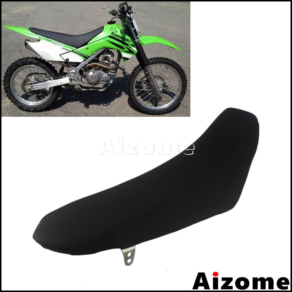 카와사키 klx150 klx 150 모토 크로스 시트 용 오토바이 먼지 자전거 뒷좌석 쿠션 패드 소프트 폼 시트 어셈블리
