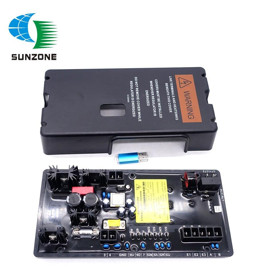 منظم جهد المولد DVR 2000E AVR ، أجزاء المولد ، DVR2000E