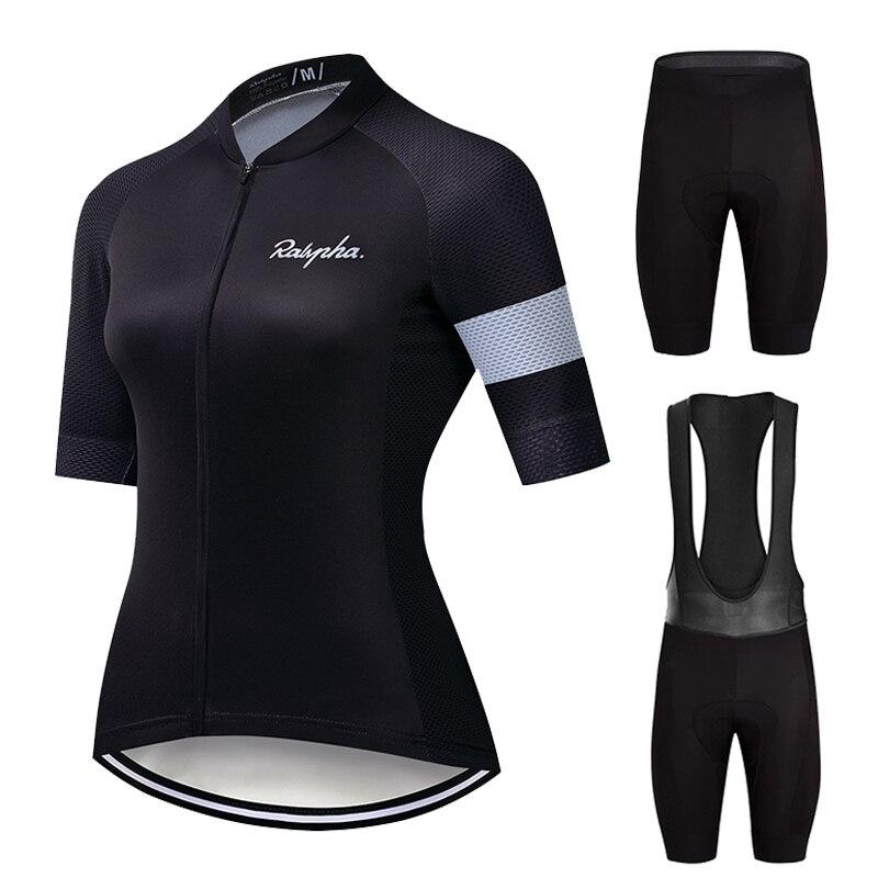 Ralvpha-Conjuntos de Ciclismo para Mujer, Ropa de verano, Kit de Ropa de...