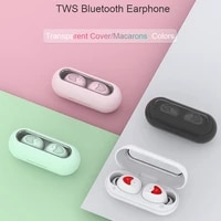 tws stereo hifi call earbuds in ear headset touch control earphones sport with mic waterproof ear phone for iphone for xiaomi