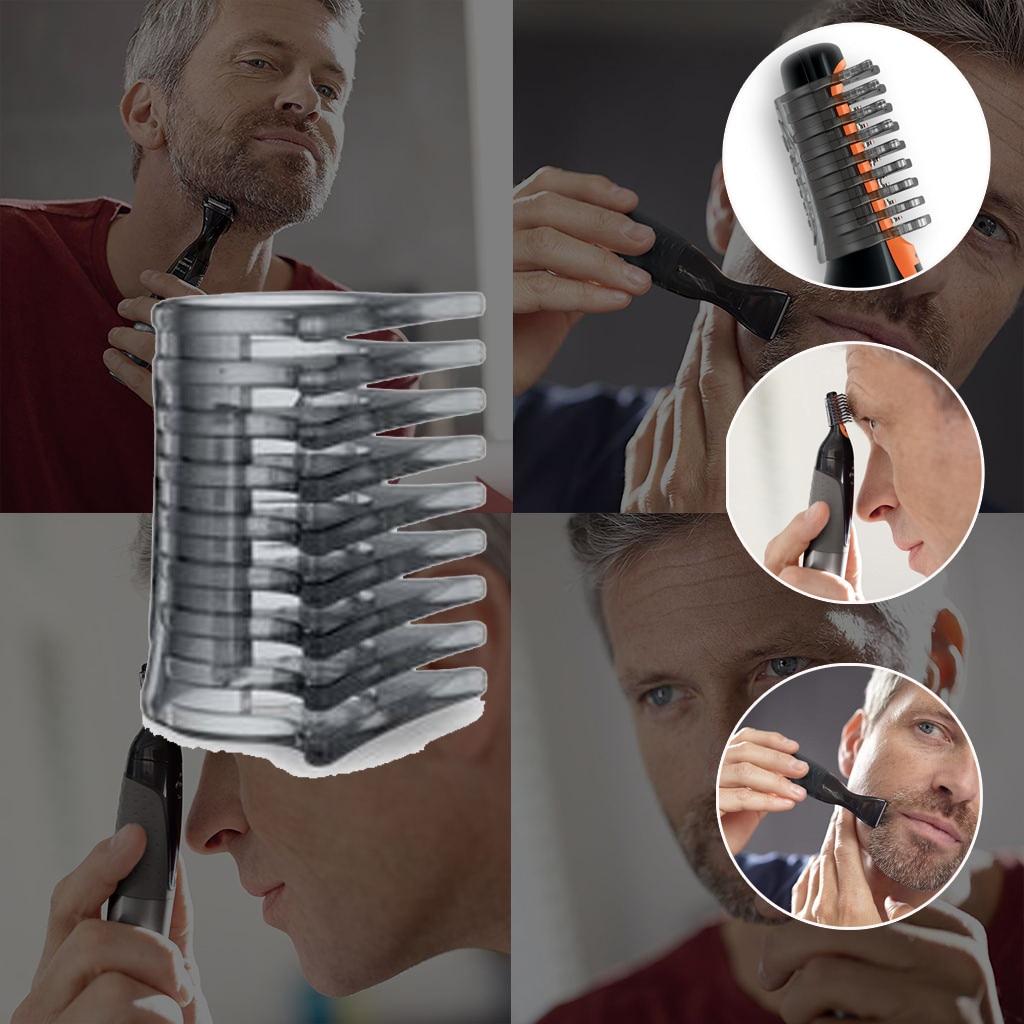5100 piezas de repuesto para orejas cejas patillas de cuello para Philips recortador de pelo de nariz resistente al agua