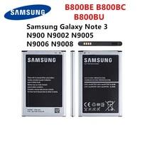 samsung orginal b800be b800bc b800bu battery for samsung galaxy note 3 n900 n9002 n9005 n9006 n9008 replacement battery with wo
