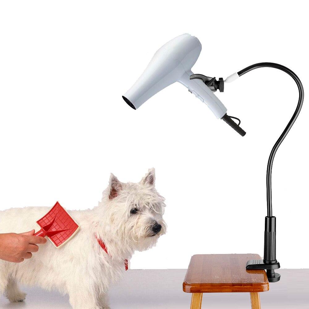 חיות מחמד שיער מייבש Stand קבוע סוגר כלב/חתול טיפוח מייבש תמיכה מסגרת פלטה שיער מייבש מדף עבור כלב אבזרים חיות מחמד טיפוח