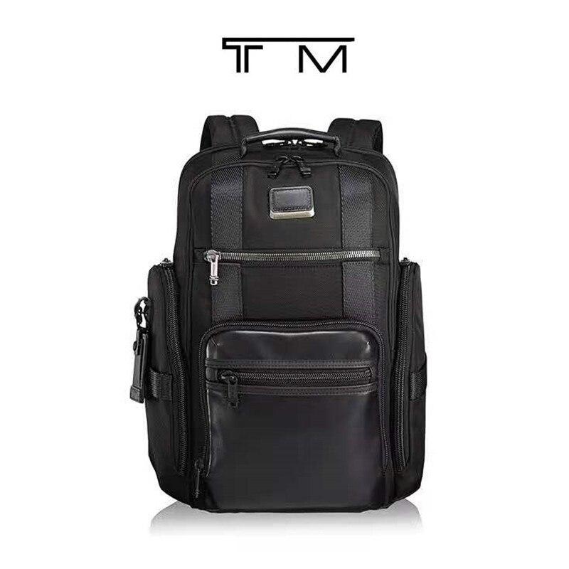 New 232389D ballistic nylon function men's backpack 15 inch computer bag