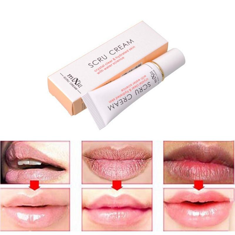 Propolis Lip Exfoliating Gel Vitamin E Collagen Moisturizing Lip Cream Anti-Drying Aging Lip Balm Lips Care