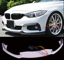 UNPAINTED Fiber Glass Front Lip Spoiler For BMW F32 F33 F36 M-Sport M-tech Bumper 2014UP B398F