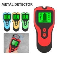 3 in 1 metal detector finding wood metal studs ac voltage live wire detect wall scanner box electrical finder wall detector
