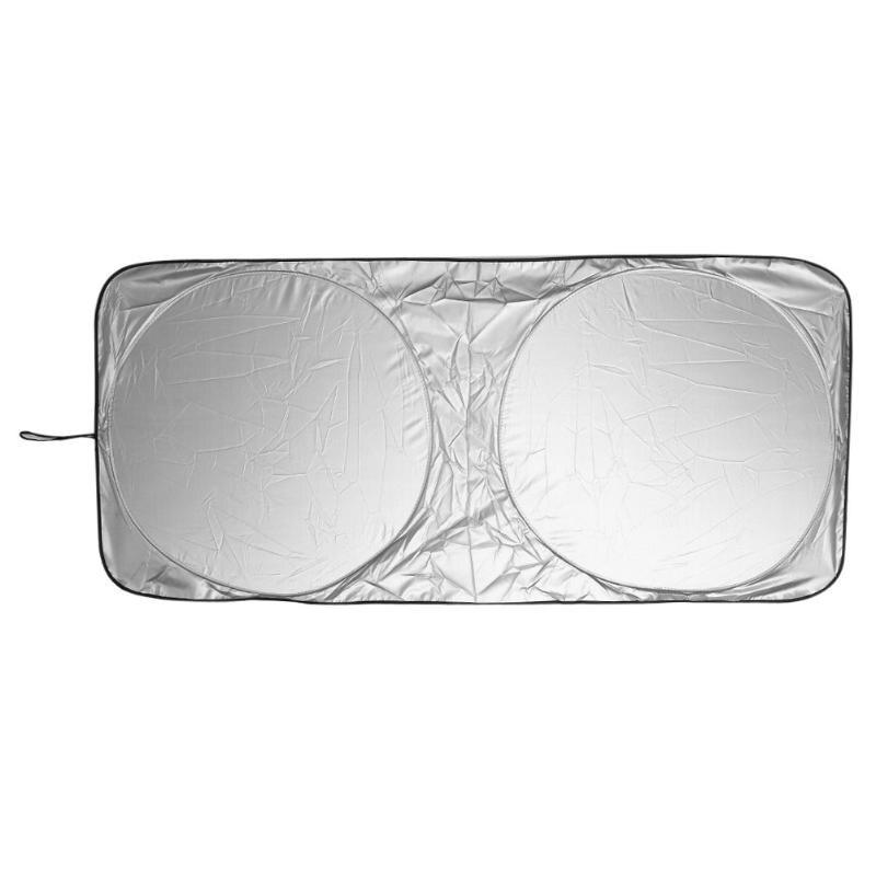 VODOOL Front Rear Car Window Windshield Foldable Window Shade Shield Cover Visor UV Block Sunscreen Cover Film