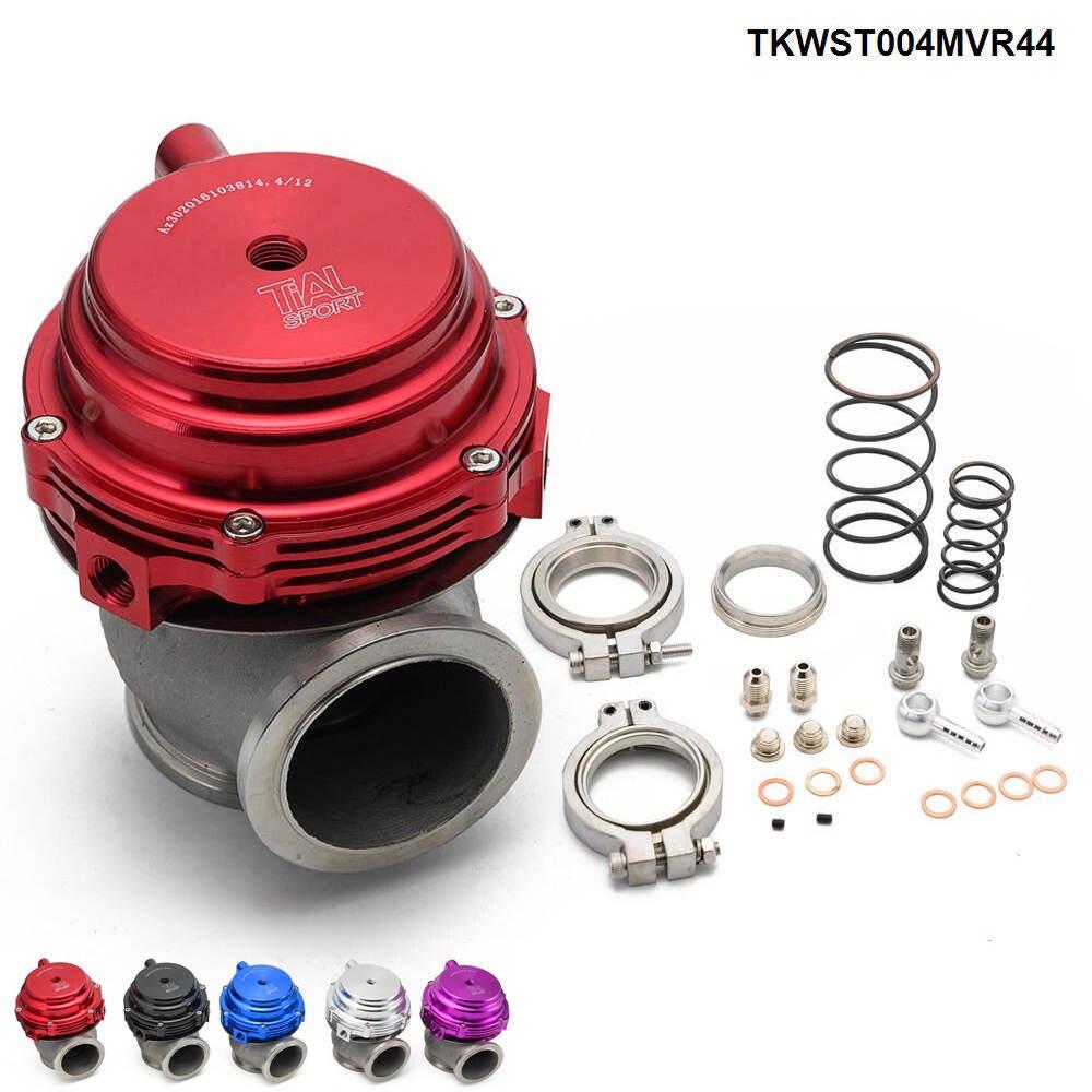 MVR 44mm V Band External Wastegate Kit 24PSI Turbo Wastegate with V Band Flange TKWST004MVR44