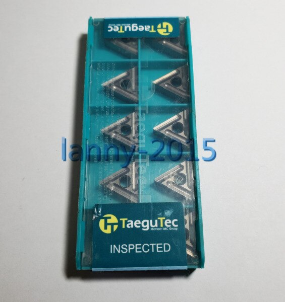 10 unids/caja nuevo TaeguTec CNC hoja TNMG160404R-FS CT3000