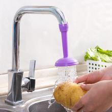 1pc criativo 2 em 1 extensor torneira da cozinha ajustável cabeça de chuveiro e torneira bico com válvula de alívio pressão bico